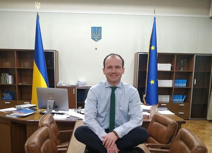 Денис Малюська, минюст Украины