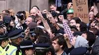 В Лондоне в ходе акции протеста арестованы антиглобалисты