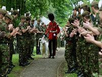 Козла валлийской королевской гвардии отправили на пенсию