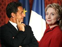 Николя Саркози впервые встретится с Хиллари Клинтон