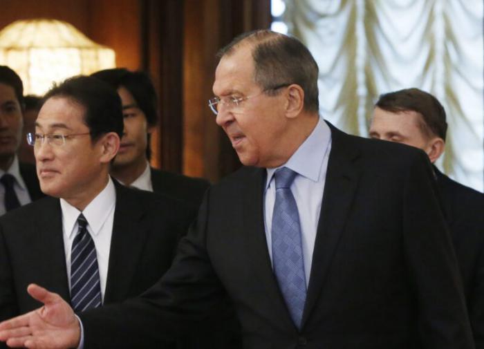 Лавров и Кисида