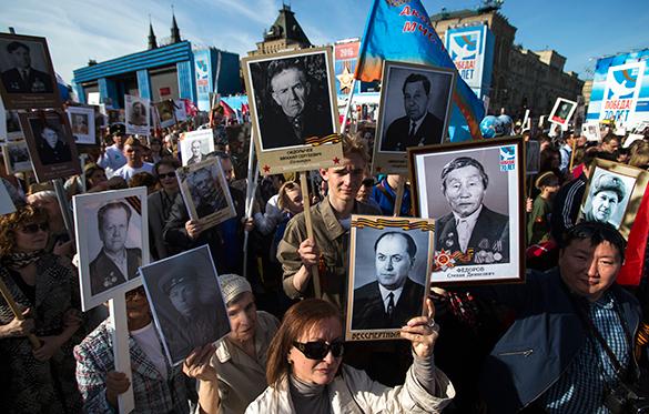 """Акция """"Бессмертный полк"""" доказала, что сила в правде - Геннадий Шорохов. Бессмертный полк, шествие, акция, День Победы"""