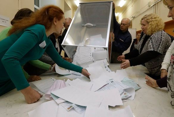 В Госдуму прошли четыре партии