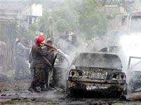 Смертник взорвал шесть человек в Афганистане