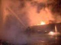 Пожар в воинской части Тамбова произошел из-за короткого