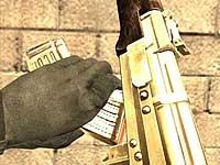 Бразильская наркополиция нашла позолоченный АК-47
