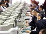 Токийская биржа снова в строю