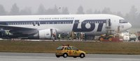 Аэропорт Варшавы открылся после аварийной посадки