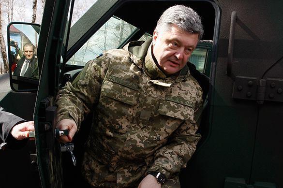 Порошенко опять говорит о войне с Россией
