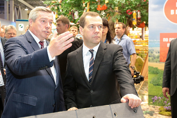 Василий Голубев, Дмитрий Медведев