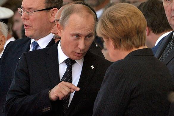 Жители Германии доверяют Путину больше, чем Меркель