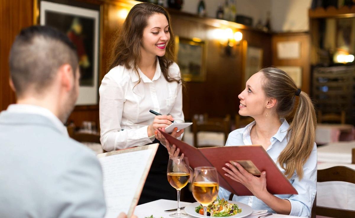 Как сходить в ресторан без вреда для здоровья и фигуры. Меню ресторана