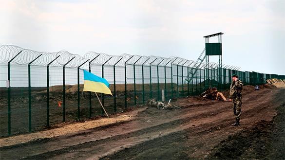 На границе с Украиной вырыт стокилометровый ров. российско-украинская граница