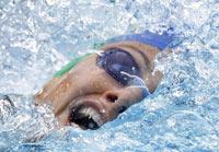 Лариса Ильченко выиграла марафонский заплыв