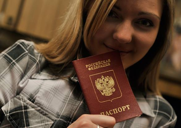 Российский паспорт будут выдавать за час. В Крыму. Российский паспорт будут выдавать за час. В Крыму