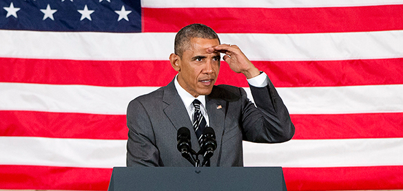 Обама