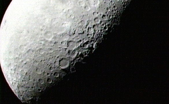 Ученые придумали, как добывать воду на Луне. поверхность Луны