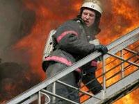 В здании делового центра в Уфе вспыхнул пожар
