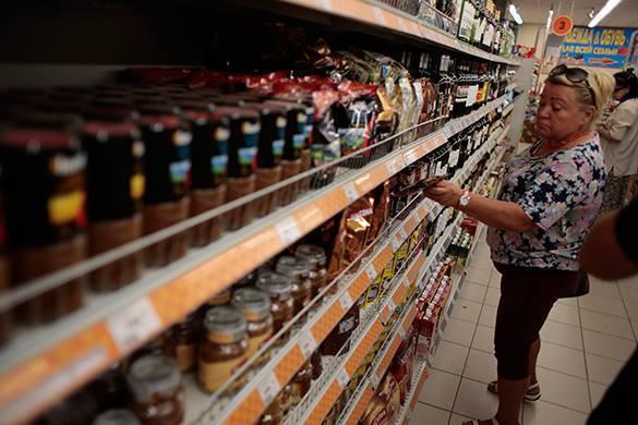 Минэкономразвития: Продукты могут оказаться дешевле прогноза на 2015 год. в магазине