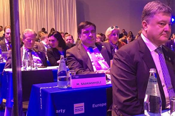 Саакашвили опозорился