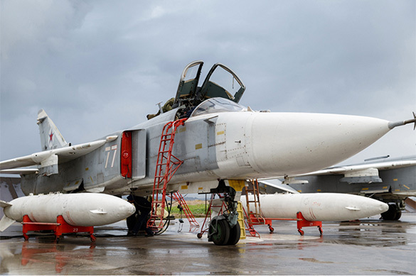 На российском базе Хмеймим усилены меры безопасности. 381479.jpeg