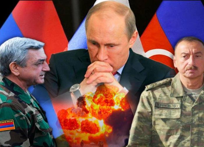 Нагорный Карабах,война, Россия