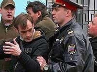 Милиционеры задержали три десятка участников