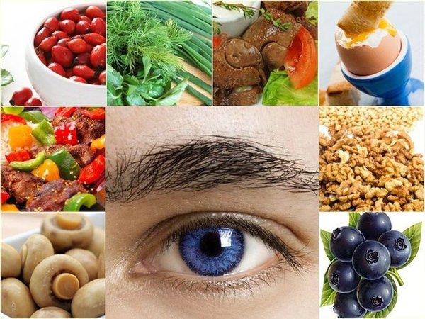 Болезни глаз. Как правильно питаться?. зрение и рацион питания