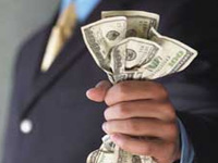 Доллар подешевел на 44 копейки