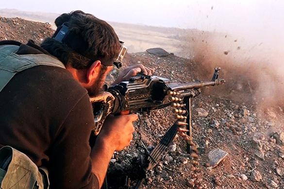 У террористов ан-Нусры нашли склады оружия из США