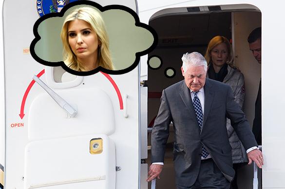 Кого представляет Тиллерсон на переговорах в Москве?