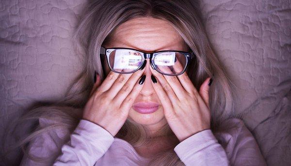 Подпитка для глаз. усталые глаза