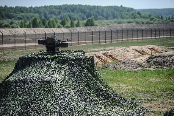 Украина оставила границу с Росией без забора.