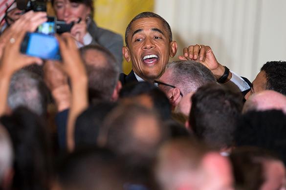 Обама защитил спокойствие геев на ЛГБТ-приеме. ВИДЕО. Барак Обама