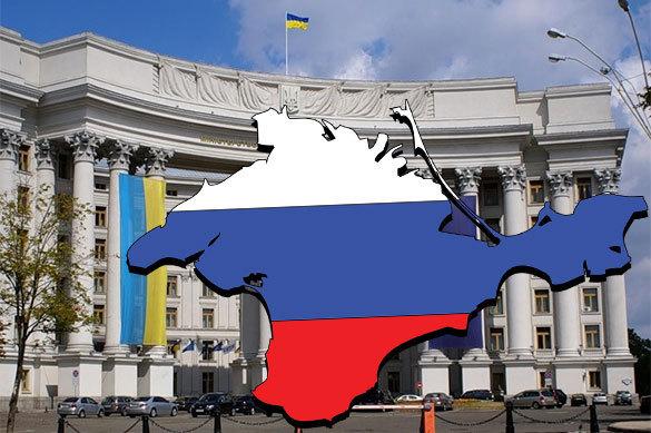 Украинский МИД возмущен признанием Крыма в Европе