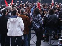 Жители Афин устроили акцию в поддержку мигрантов