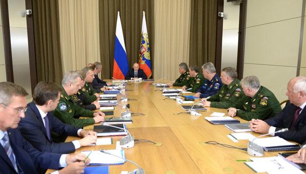 Президент России открыл недельную серию совещаний по ВПК. совещание в Кремле по ВПК