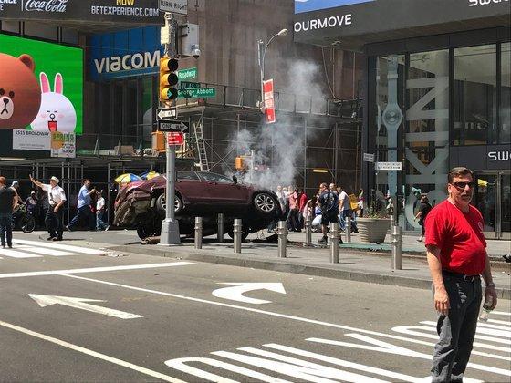 Наехавшему напешеходов вНью-Йорке шоферу предъявили обвинение