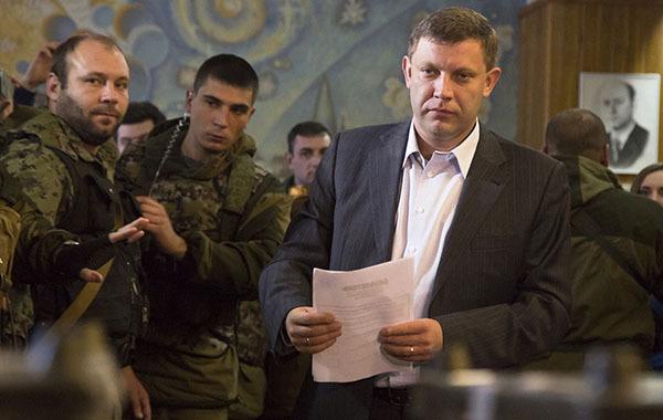 Захарченко рассказал о саботажах