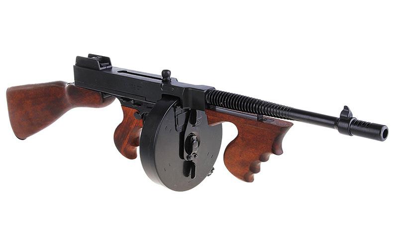 Любимое оружие американских гангстеров - как появился