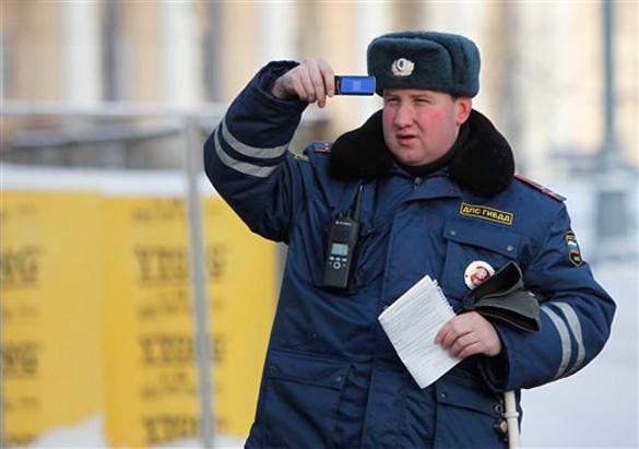 Инспектора ДПС искусал остановленный водитель-чуваш.