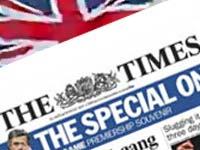 Знаменитая британская газета досадно