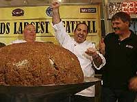 В США приготовили фрикадельку-гиганта