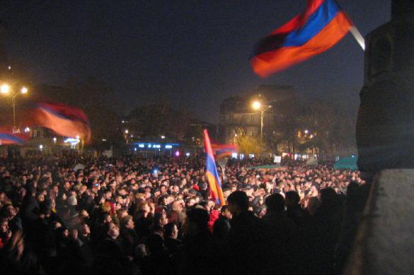 В Ереване снова бунтует оппозиция. В Ереване снова бунтует оппозиция