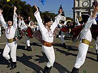 Во время празднования Дня города в центре Кишинева прогремел