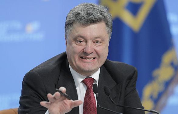 Украинский президент выдвинул свою версию убийств оппозиционеров на Украине. порошенко президент Украины