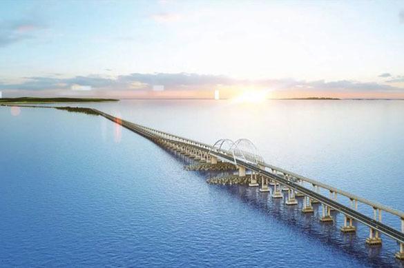 Киев подсчитывает будущие убытки от строительства Крымского моста. крымский мост