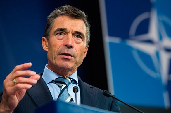 Прежний генеральный секретарь НАТО призвал Европу иСША неконфликтовать из-за санкций