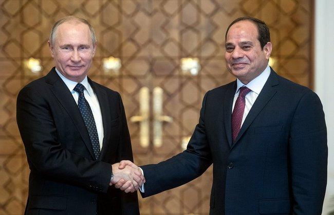 Путин: мы готовы к открытию авиаперелетов Москва-Каир. Путин: мы готовы к открытию авиаперелетов Москва-Каир