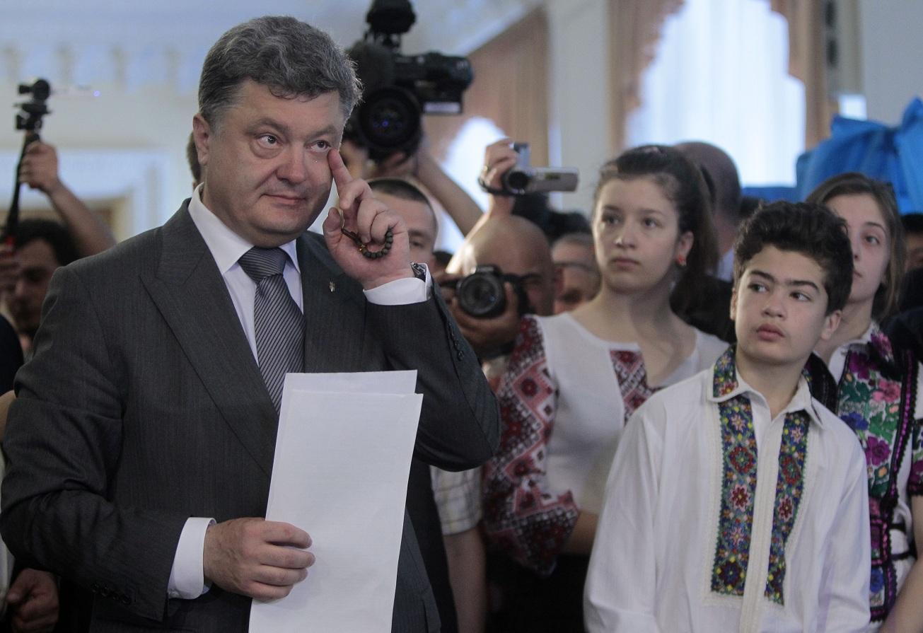 Леонид Поляков: От Порошенко требуют, чтобы он объединил Украину. 292502.jpeg